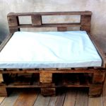 Rustic Pallet Chair with Table