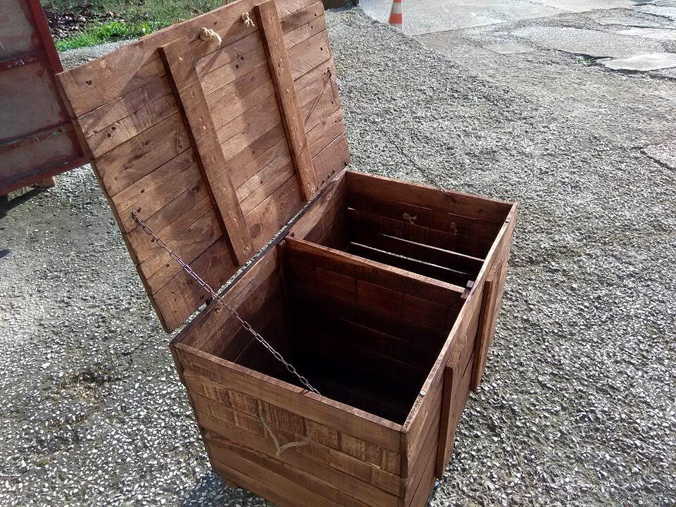 no-cost wooden pallet beefy chest