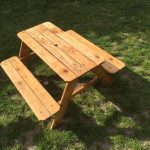 Pallet Kid's Table with Bench
