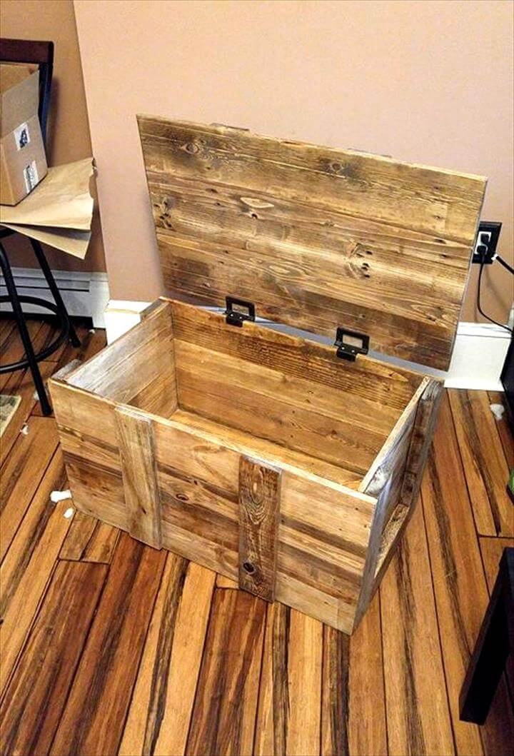 how to build a wooden chest