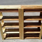 Easy to Make Pallet Shoe Rack