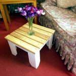 Side or End Table from Pallets