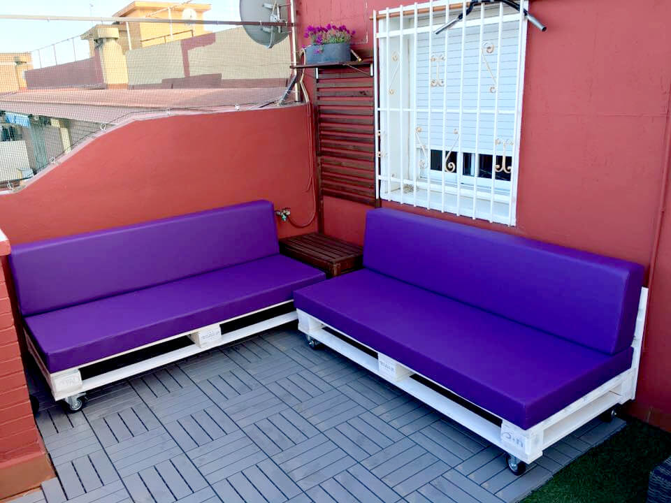 pallet terrace sectional sitting plan