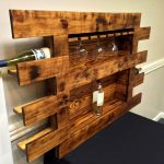 Pallet Glass and Bottle Rack
