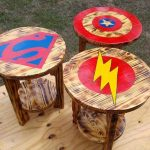 Pallet End Tables & Side Tables