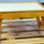 DIY Pallet Stool / Mini Eating Table Station