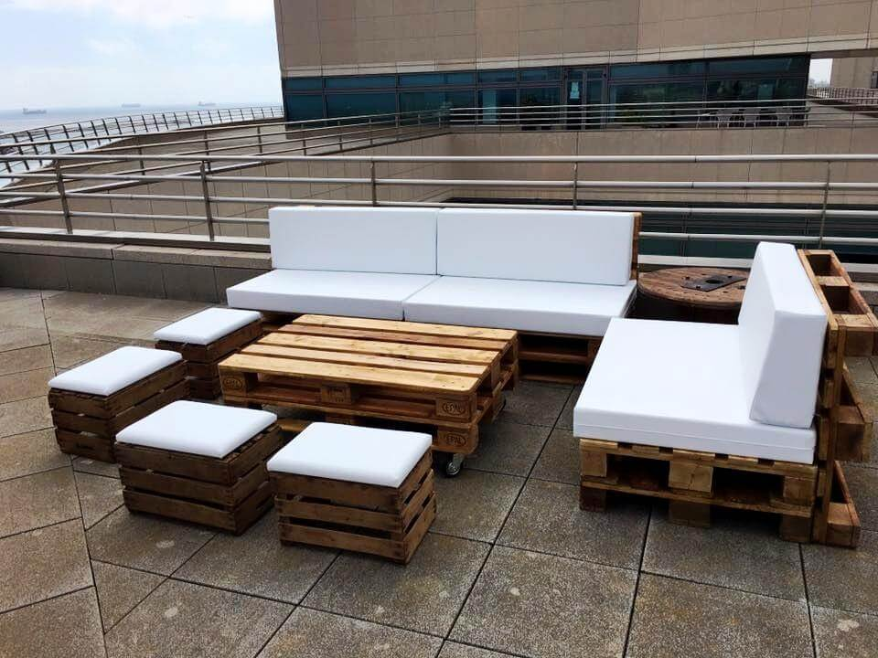 Pallet Patio Couch diy pallet outdoor sofa ideas | 99 pallets