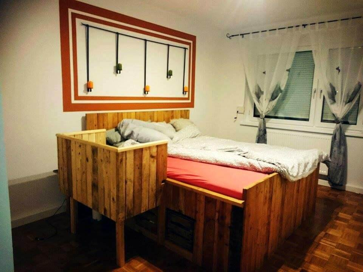 amazing pallet bed