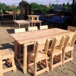 Pallet Outdoor Dining Furniture Set