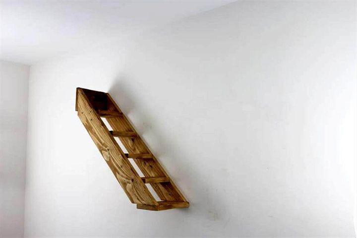 pallet shelf for walls