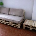 DIY Pallet Sofa and Coffee Table