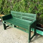 Pallet Benches for Garden