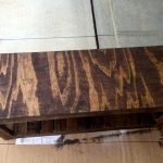 Rustic Pallet Bench Seat with Storage