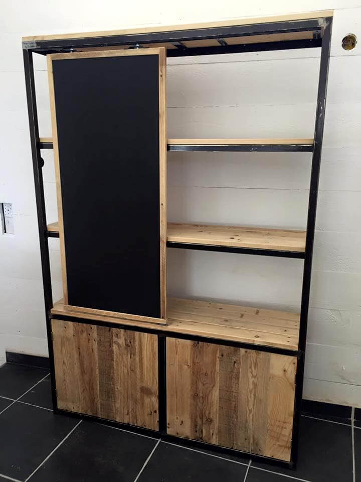 Upcycled Pallet Closet 99 Pallets