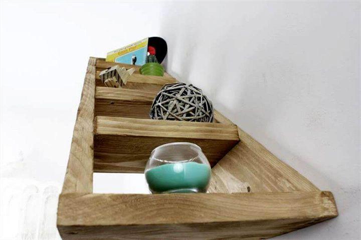 diy pallet shelf for walls