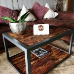 Industrial Style Pallet Wood Coffee Table