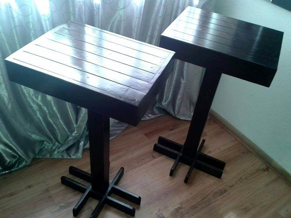 amazing pallet bar height table
