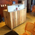 DIY Pallet Bar Paneling Project