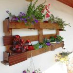 Pallet Planter or Pot Organizer