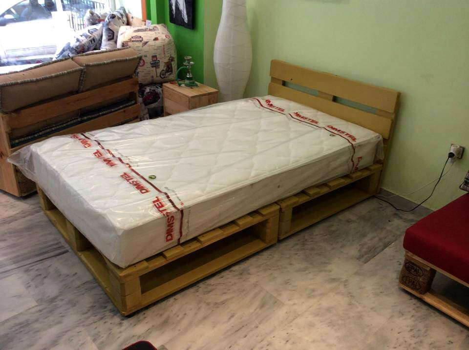 Permalink to how to build a platform bed with pallets