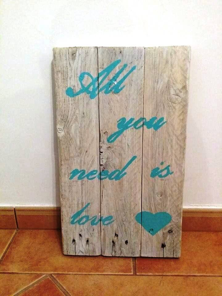 Diy Pallet Wall Art And Decor Ideas