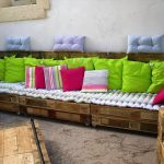 Low-Cost yet Stylish Pallet Sofa Set