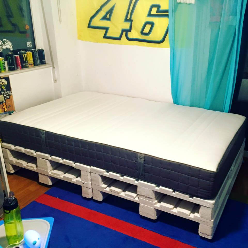 10 Ideas About Pallet Bed Frames