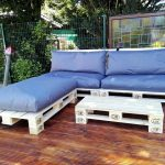 DIY Awesome Pallet Sofa Design for Outdoors