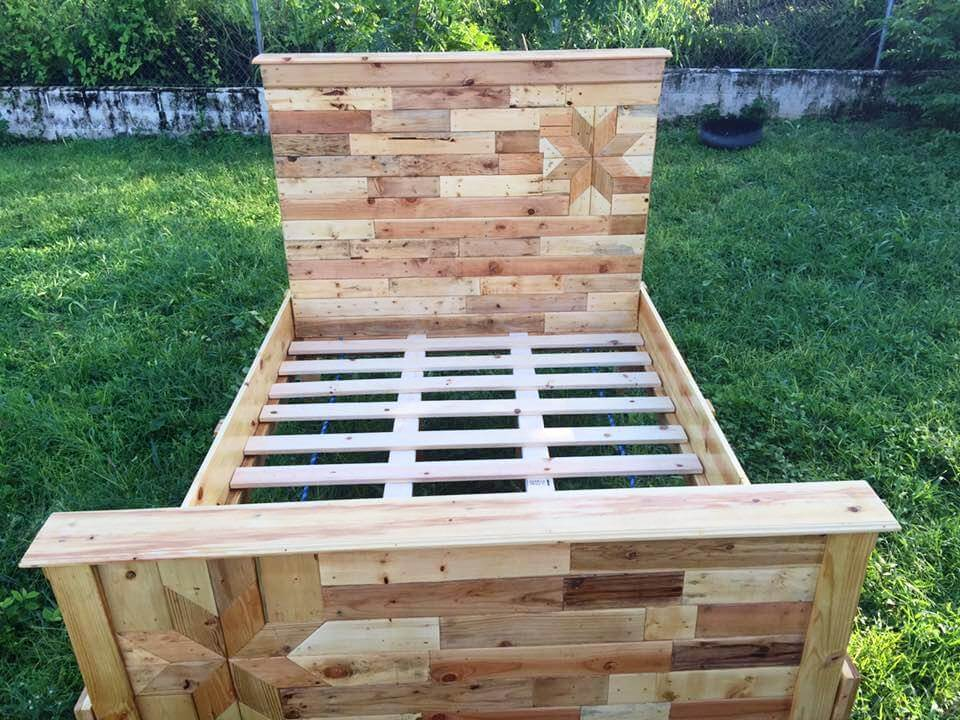Footboard Plans For Raised Bed