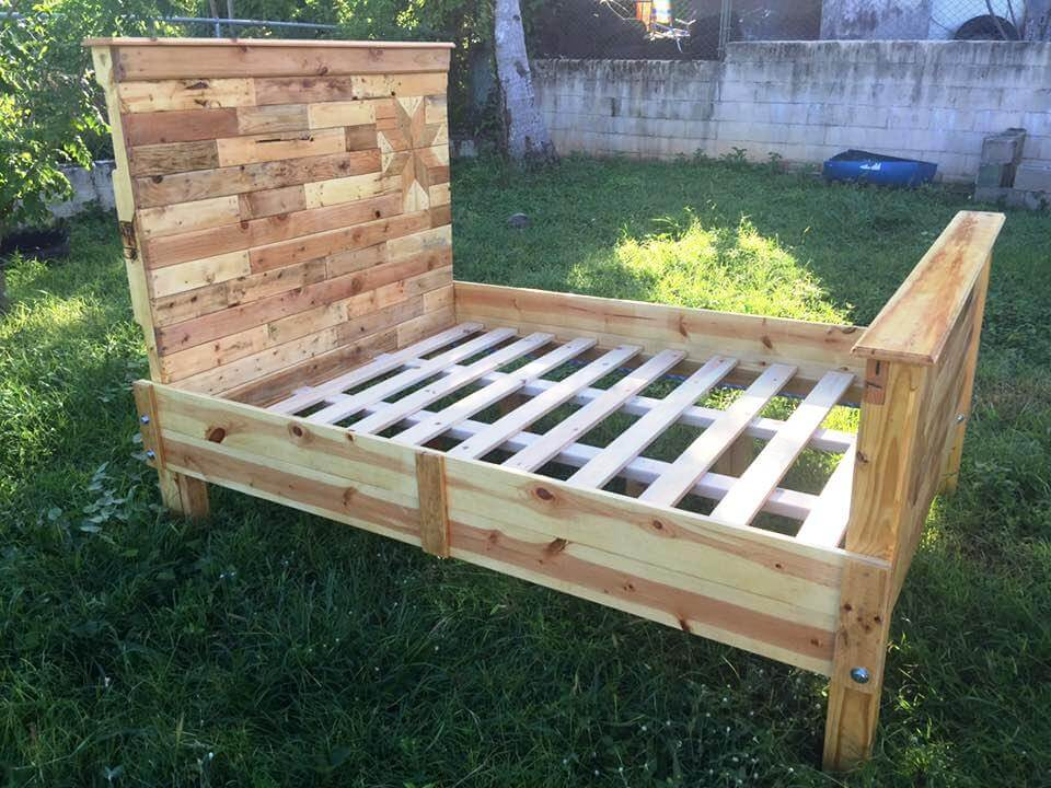 DIY Pallet Bed Frame for Your Bedroom